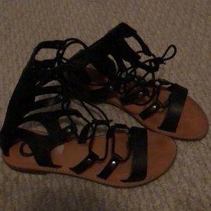 G by Guess Shoes - Guess lace up sandals